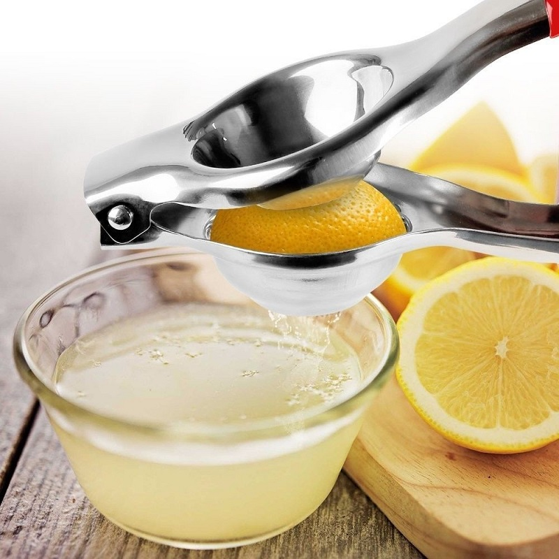 Multifunctional Mini Stainless Steel Lemon Orange Squeezer Juicer Hand Citrus Juicer Press Squeeze Vegetable Juice Tools