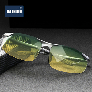 Image 3 - Brand Aluminum Polarized Day Night Driver Sun Glasses Polarized Male Sun Glasses For Men Eyewear Accessories UV400 8179