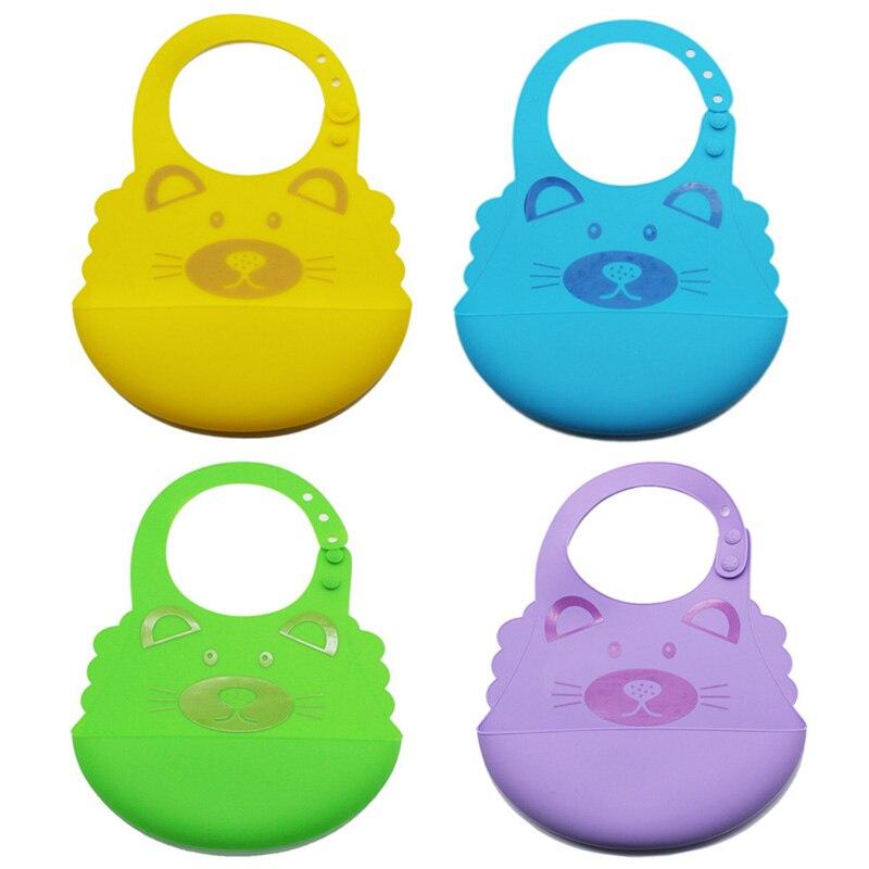Best Waterproof Wipeable EVA Material Toddler Baby Feeding Bibs New PN1