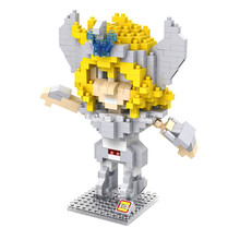 LOZ 9482 Saint Seiya Cygnus Glacier Centaur Diamond Brick Educational Kids Minifigures Building Block Compatible with Legoe