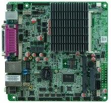 Безвентиляторный mini itx материнская плата с процессором celeron j1800 на борту, dual core 2.41 ГГц, поддержка DDR3 ОПЕРАТИВНОЙ ПАМЯТИ и SSD mSATA/SATA HDD