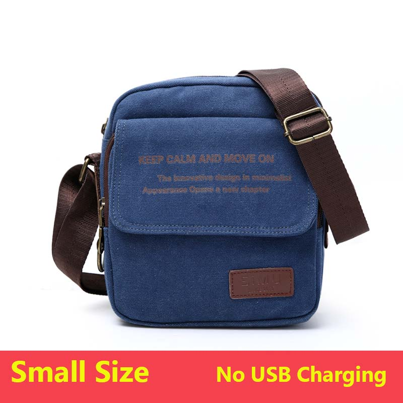 507baaa3b1 Dropwow Man Urban Daily Carry Bag High Quality Men Canvas Shoulder ...