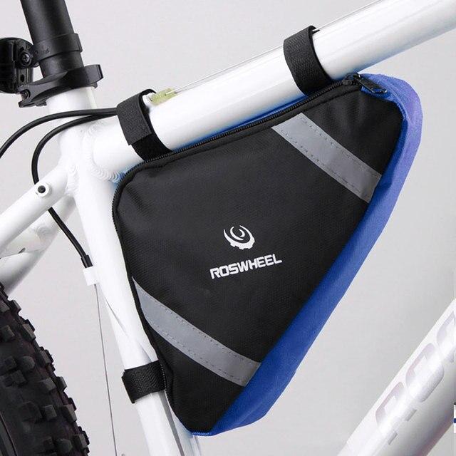 874daf70334 ROSWHEEL Bolsa de marco de bicicleta triángulo Bolsa de almacenamiento de  bolsas de Ciclismo MTB bicicleta
