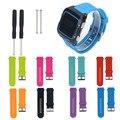 Ремешки для наручных часов Черный для Garmin 920XT Мягкий Силиконовый Ремешок Замена Ремешок Для Часов + Наконечники Адаптеры Для Garmin Forerunner 920XT GPS Ремни