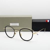 High quality eyeglasses frames TB905 men and women Vintage prescription eyewear frames Round Reading glasses with original box