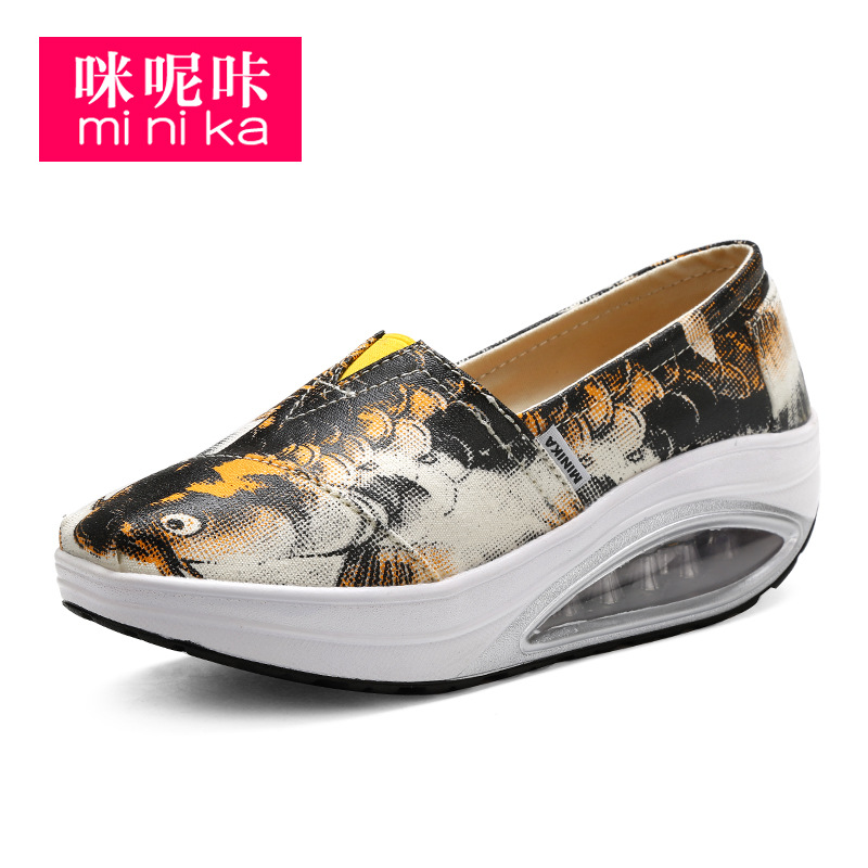 new fashion popular canvas shoes flats breathable