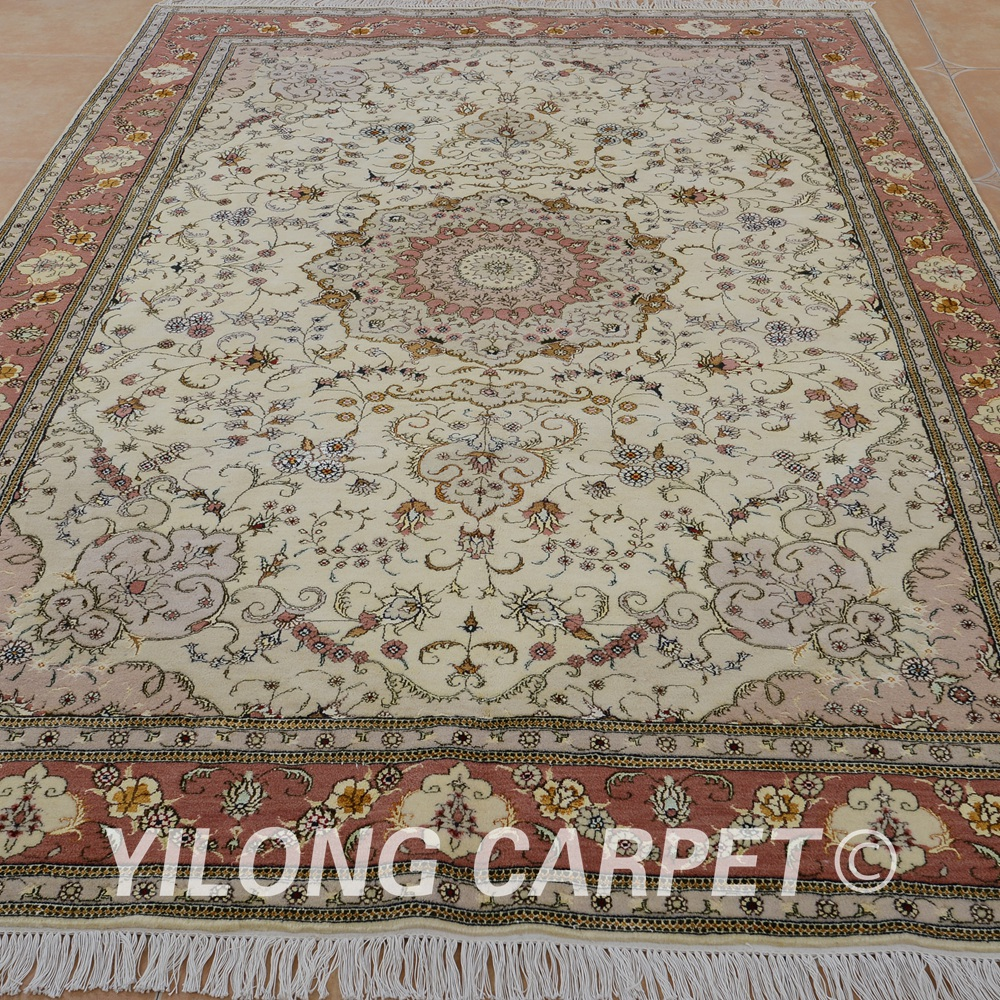 Us 6480 0 Yilong 6 X9 Oriental New Zealand Wool Carpet Exquisite Handmade Rugs India 1404 In Rug From Home Garden On Aliexpress