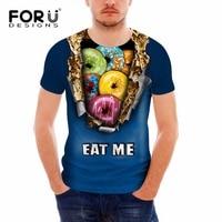 FORUDESIGNS 2017 여름 새로운 패션 브랜드 T 셔츠
