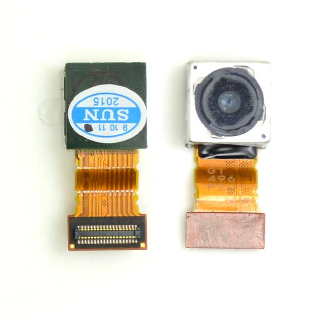 Original voltar câmera traseira cabo flex para sony xperia z3 compact mini d5803 camera 100% alta qualidade