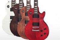 Новое поступление Китай OEM атласCherry отделка Suneye LPJ электрогитары Левша гитары на заказ доступны