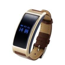 Smartband Сердечного ритма K18 Умный Браслет Bluetooth 4.0 120 мАч Шагомер Спящий режим Tracker Кожаный Ремешок + Силиконовые