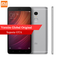 Xiaomi Redmi Note 4 3GB RAM 32GB ROM smartphone Qualcomm Snapdragon 625 Octa Core Note4 1080P MIUI8 IDENTIFICACIÓN de Huellas Dactilares teléfonos