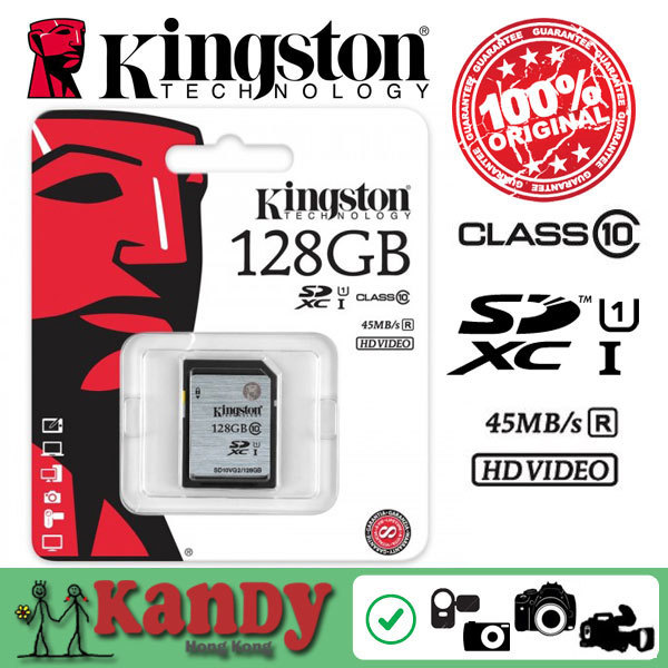 Kingston memory card sd card UHS SDHC XC 16gb 32gb 64gb 128gb class 10 cartao de memoria tarjeta carte sd memoire appareil photo