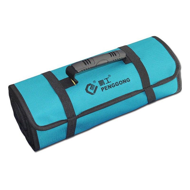 PENGGONG Reels Storage Tools Bag Multifunction Utility Bag Electrical Package Oxford Canvas Waterproof With Carrying Handles