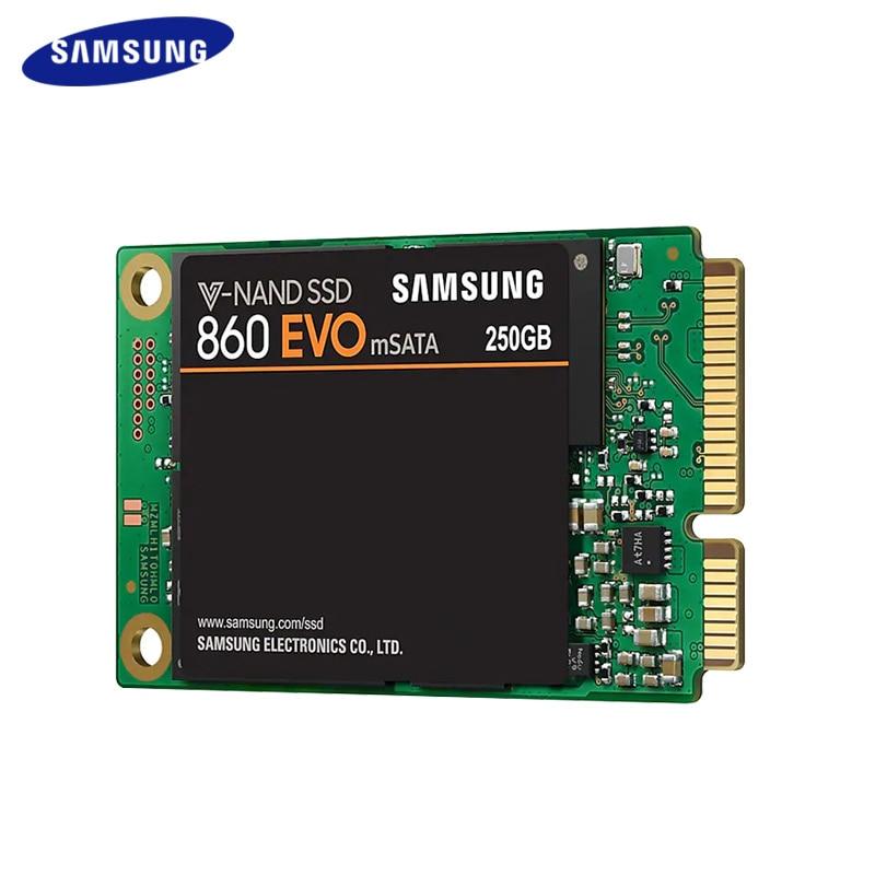 SAMSUNG SSD 860 EVO mSATA V-NAND SSD 250GB 500GB Internal Solid State Disk HDD Hard Drive for Laptop Desktop PC TLC disco duro