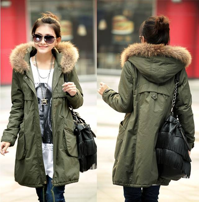 Compare Prices on Khaki Green Parka Jackets Women- Online Shopping