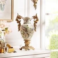 Cracked ceramic vase European Home Furnishing decoration can crack Leah ceramic vase flower