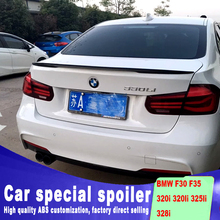 New design 2013 2014 2015 2016 2017 for BMW F30 F35 spoiler by high quality ABS material DIY color 320i 320li 325li 328i