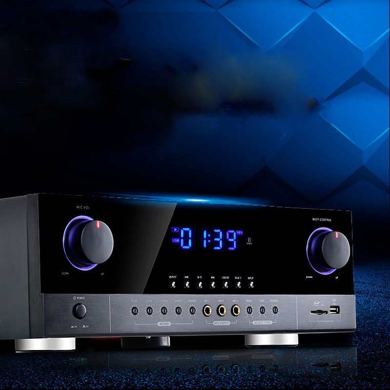 high power home amplifier Bluetooth amplifier professional stage KTV audio amplifier G5-AK390