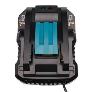 Image 1 - Dc18Rc 14,4 V 18V Li Ion Batterie Ladegerät 4A Ladestrom Für Makita Bl1830 Bl1430 Dc18Rc Dc18Ra Werkzeug Akku eu Stecker