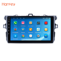 Harfey Android6.0/7,1/8,1 9 2Din автомобиля радио для Toyota Corolla 2006 2007 2008 2012 2011 2010 2009 gps мультимедийный плеер wi fi
