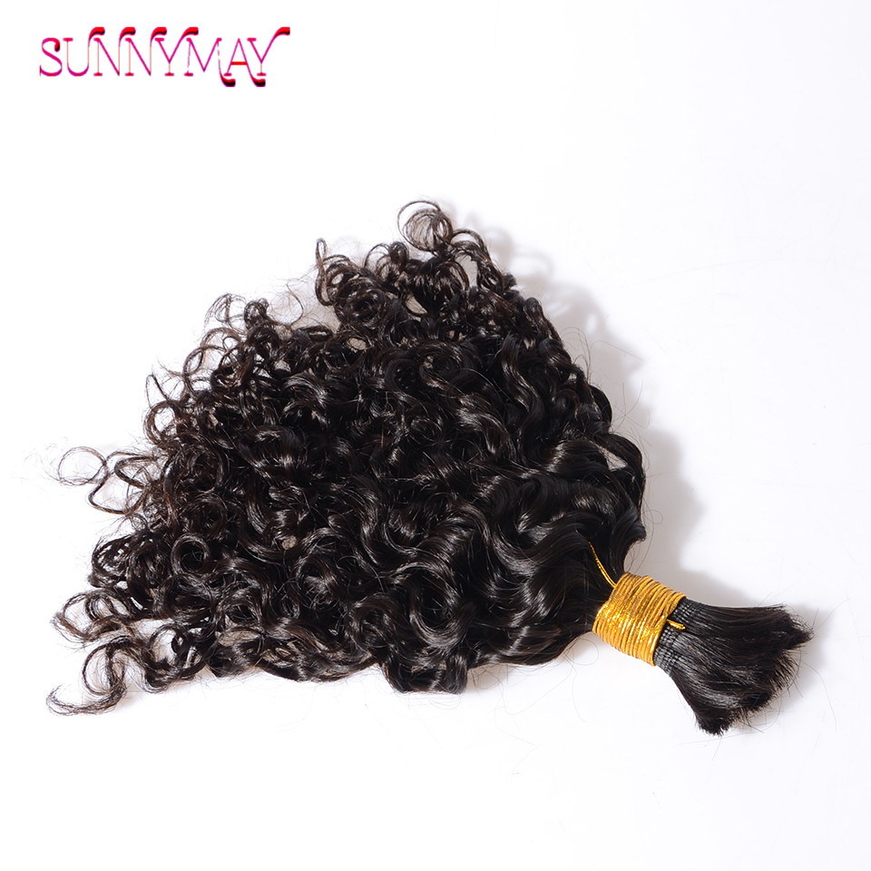 8a Virgin Brazilian Human Braiding Hair Bulk No Weft