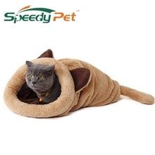Cute, warm mouse-shaped cat bed / mat cave / 4 colors