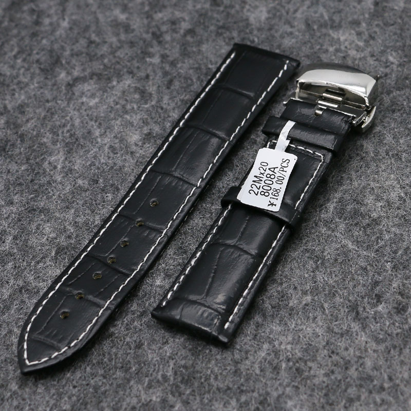 18mm/20mm/22mm Genuine Leather Watch Band Strap 3 Colors High Quality Watchstrap for Women Men Watches Replacement PD012 женские часы adriatica a3464 1113q