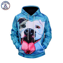 Mr.1991INC Men's Hoodies Funny 3D Print Cartoon Dog Fashion Brand Sweatshirt Pullover Autumn Winter Clothing Plus Size M-3XL