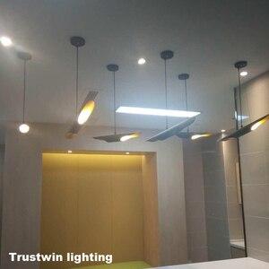 Image 3 - Replica delightfull coltrane loft moderno conduziu a lâmpada de suspensão luminária ouro preto asa alumínio tubo pendurado pingente lâmpada luz