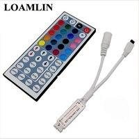 LED コントローラ 44 キーの Led 赤外線 RGB コントローラー Led ライト赤外線リモコン調光器 DC12V 6A ため Smd3528 5050 RGB LED|RGBコントローラ|ライト & 照明 -