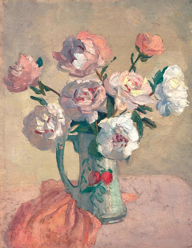nature morte peinture chinois peintures contemporain artiste chef d œuvre fleurs affiches impressions sur toile fleurs roses dans le vase
