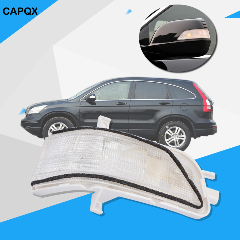 Rearview side mirror turn signal led light outer mirror lamp repeater for honda crv 2007
