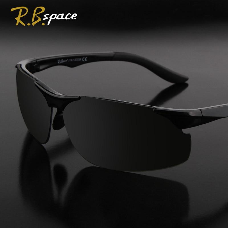 R.Bspace ऑप्टिकल ब्रांड 2018 नई ड्राइव धूप का चश्मा पुरुषों के फैशन पुरुष Eyewear सूरज चश्मा यात्रा Oculos Gafas De Sol 8087B