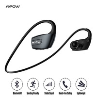 Mpow Antelope Wireless Bluetooth Headphone Noise Reduction Stereo Sport Running Bluetooth 4 1 Headset EarHook Earphone