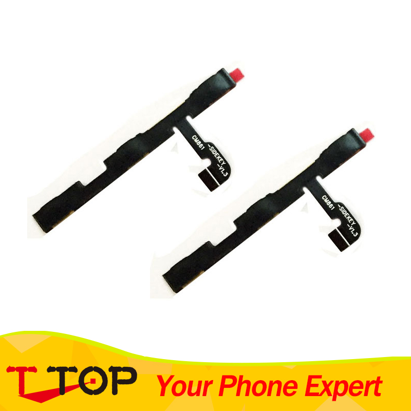 For Xiaomi Redmi Note 2/Redmi Note 3/Redmi Note 3 Pro/Redmi Note 4 Side Power ON OFF Volume Key Button Switch Flex Cable 10PCS