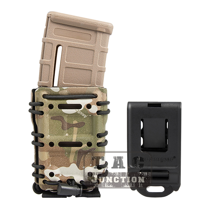 Image 2 - Emerson Tactical MOLLE / Belt Scorpion AR15 5.56 .223 EmersonGear Mag Pouch Adjustable Holster Magazine Carrier Case-in Holsters from Sports & Entertainment