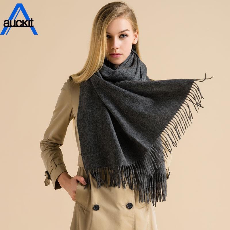 Women Wool   Scarf     Wrap   Shawl Winter   Scarf   Women's   Scarves   Tassel Long Blanket High Quality Girls Neck   Scarf   CA-64
