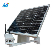 1080P 3G 4G Sim Card Solar Power Battery 30W Wireless IP Camera GSM Outdoor Bullet CCTV Security WIFI Camera Video Surveillance metal adjustable pole column mount loops bracket ip camera for 3g 4g wifi bullet camera accessories cctv security camera bracket