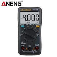 ANENG AN8000 LCD Display Digital Multimeter 4000 Counts AC/DC Ammeter Voltmeter Ohm Meter Tester aneng an8009 auto range digital multimeter 9999 counts backlight ac dc ammeter voltmeter ohm transistor tester multi meter