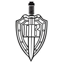 CK2830#16*30cm Border troops funny car sticker vinyl decal silver/black car auto stickers for car bumper window car decorations ck2194 12 60cm 6 30cm lada logo funny car sticker vinyl decal silver black car auto stickers for car bumper window car decor