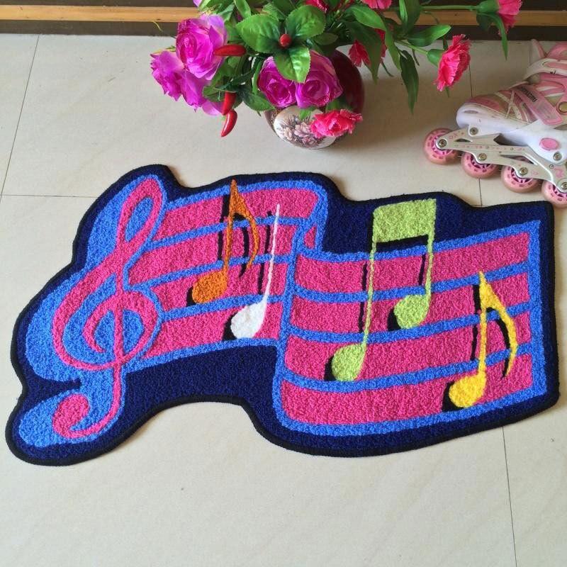 note de musique tapis promotion achetez des note de musique tapis promotionnels sur aliexpress. Black Bedroom Furniture Sets. Home Design Ideas