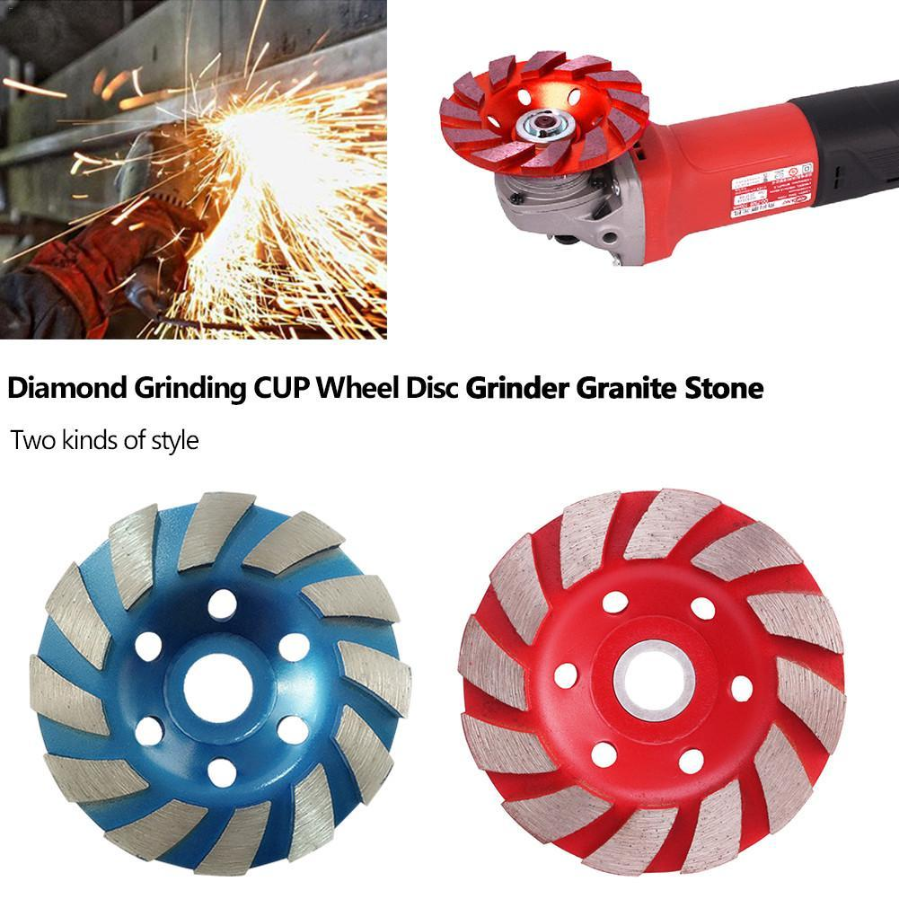 100mm Diamond Wheel Disc Bowl Grinding Cup Concrete Granite Marble Stone Polishing Pads Masonry Tools