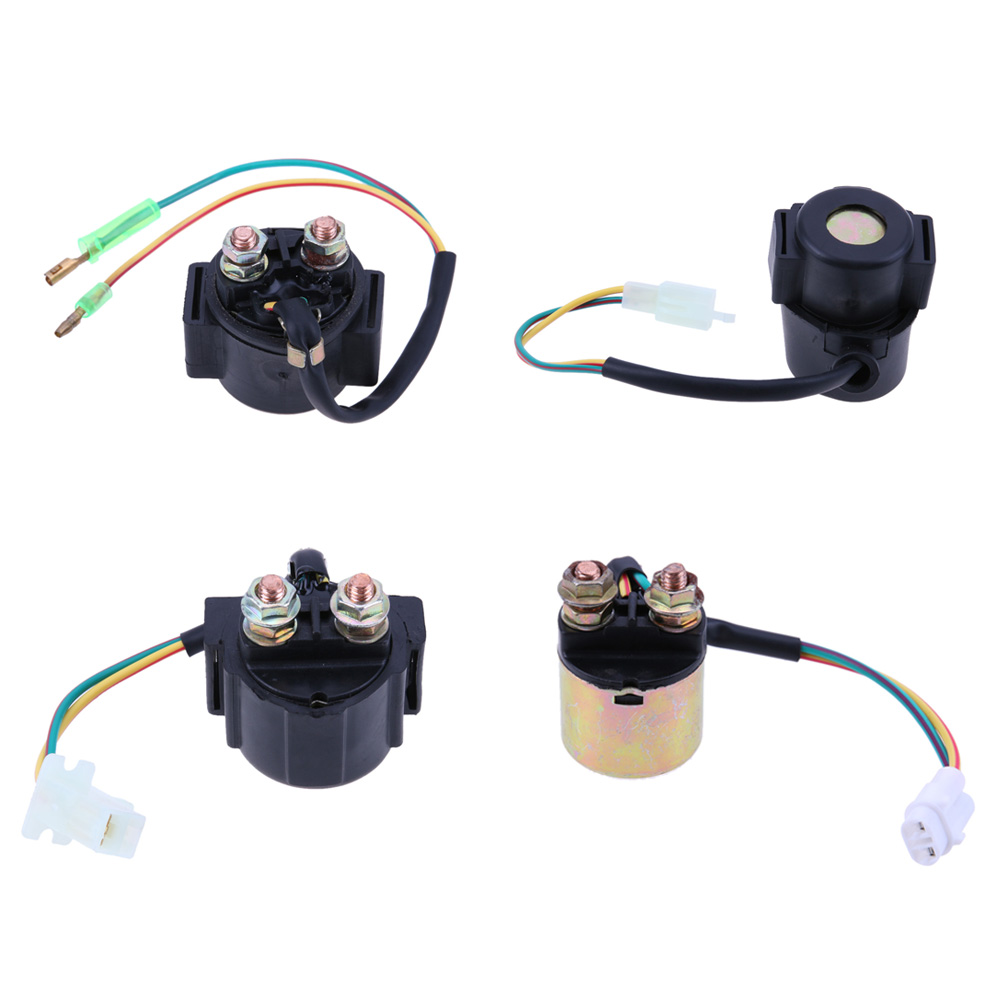 1Pcs 3008 Motorcycle Starter Solenoid Relay for HONDA YAMAHA SUZUKI For Most Chinese Scooter Motorcycle ATV Dirt bike 4 kinds