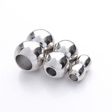 10 pcs/lot Fitting 3/4/5/7mm Round Leather Cord Rhodium 1 Magnetic Clasps Jewelry Findings F841C(China)