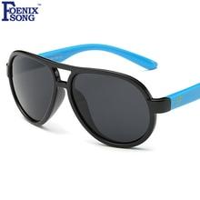 FOENIXSONG Sunglasses Polarized Sun Glasses Women Brand New Designer Oculos De Sol Kids Boys Girls Frame Gafas Feminino SKT1531