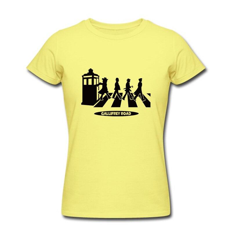 Brand Summer Men T Shirts Doctor Who Road Tshirts Women