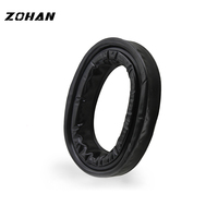 Silica Gel Ear Pads for 3M Peltor Earmuffs ZOHAN Replacement Ear Cushion Kit for Ear Defenders Protection