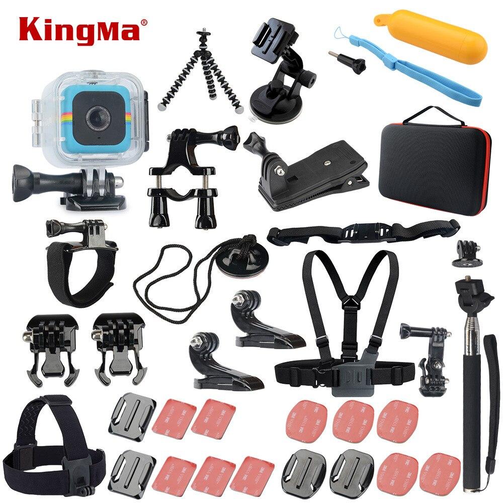 Kingma para Polaroid Cube + estuche impermeable 17 en 1 Accesorios kit para  Polaroid Cube y Cube + 19e9442194