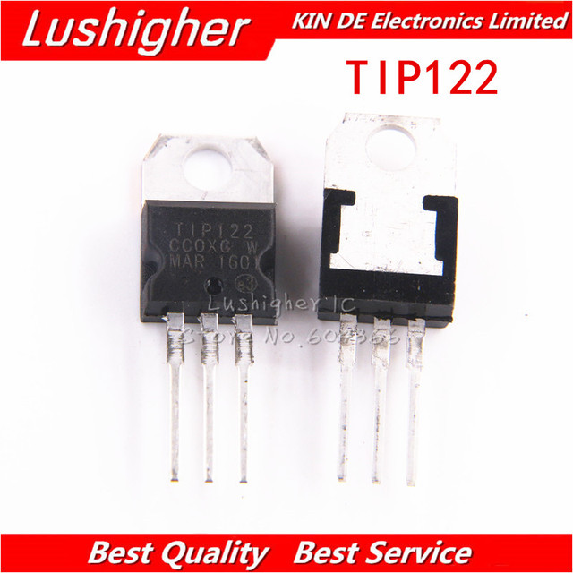 Ic Free Shipping >> 10pcs Tip122 To220 To 220 New Original Ic Free Shipping In